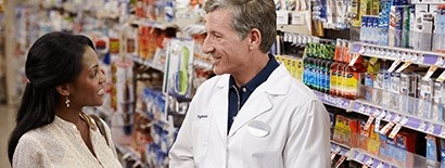 Pharmacist Talking with Customer