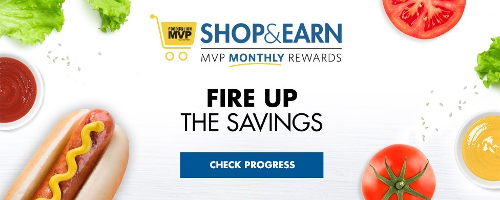Shop & Earn - Fire Up The Savings: Check Your Progress