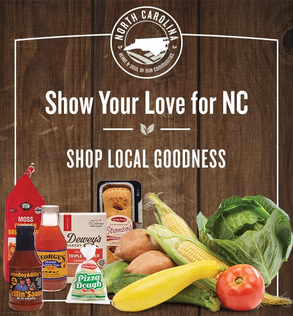 Shop Local Goodness - Show Your Love For North Carolina