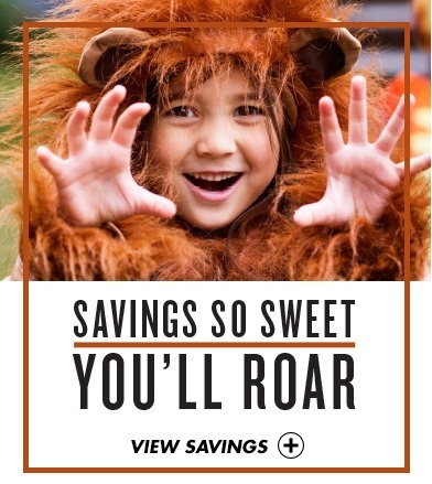 Savings so sweet you'll roar