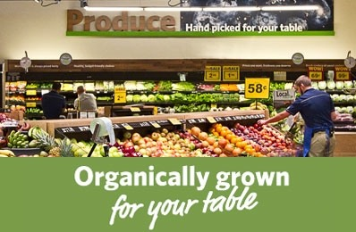 organically grown for your table