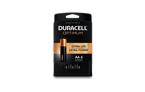 Duracell Optimum Battery Package