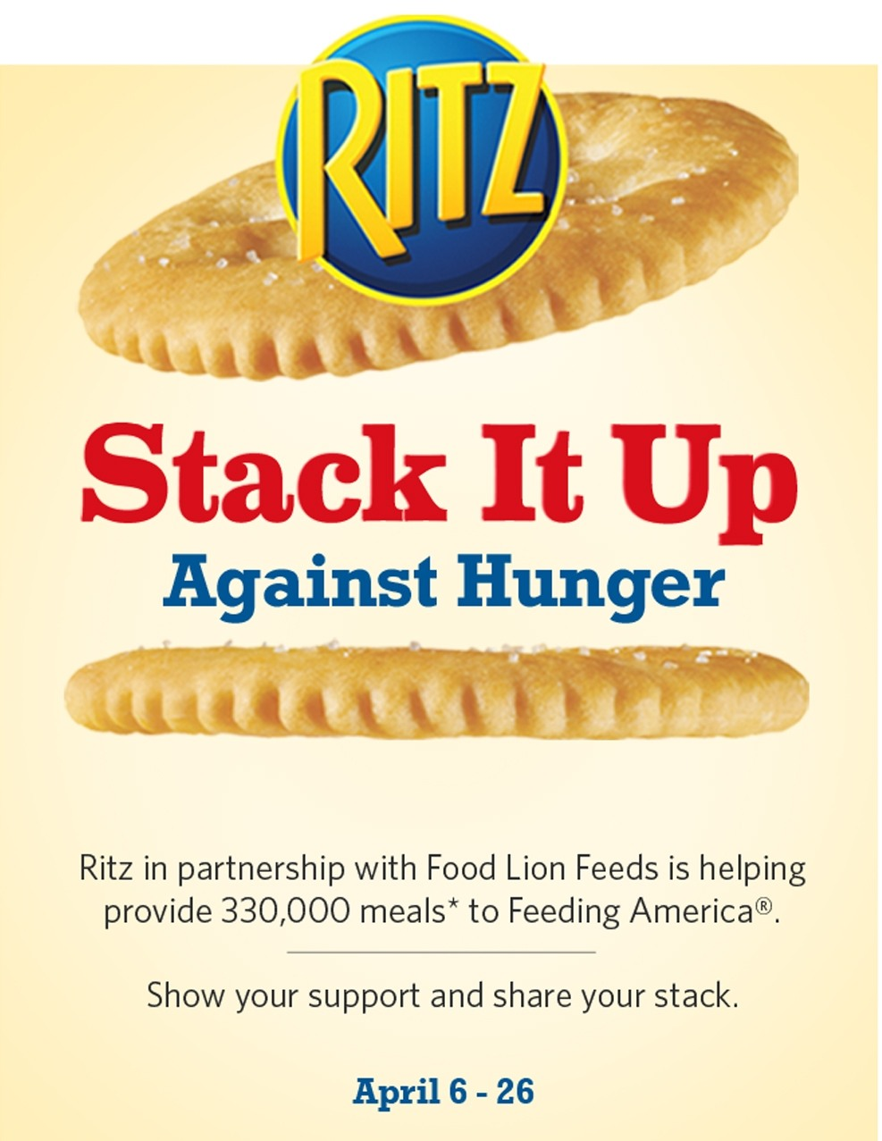 Stack It Up Against Hunger