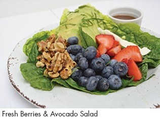 Fresh Berries & Avocado Salad