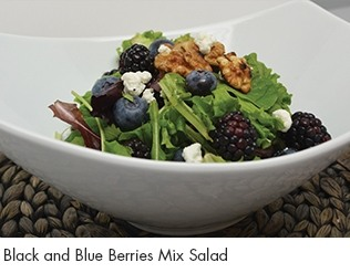 Black & Blue Mixed Berries Salad