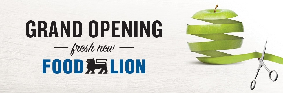 Grand Opening Fresh New Food Lion