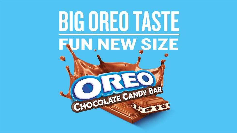 Big OREO taste, fun new size.