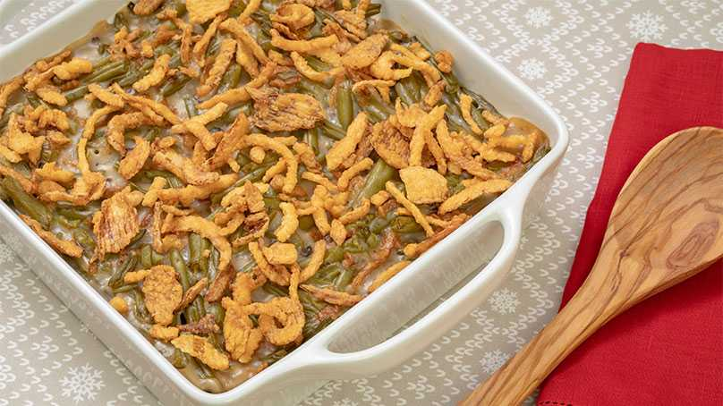 image of 3 Ingredient Green Bean Casserole