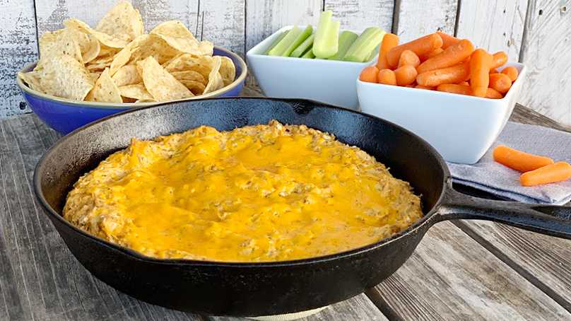 image of Buffalo Ranch Chicken Dip
