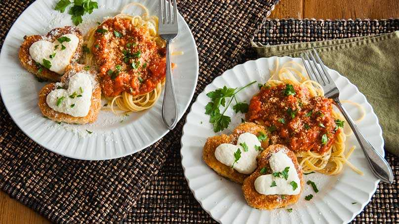 image of Easy Chicken Parm for Two