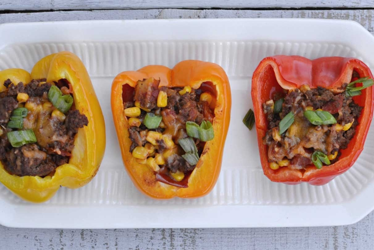 Healthy Taco Stuffed Peppers
