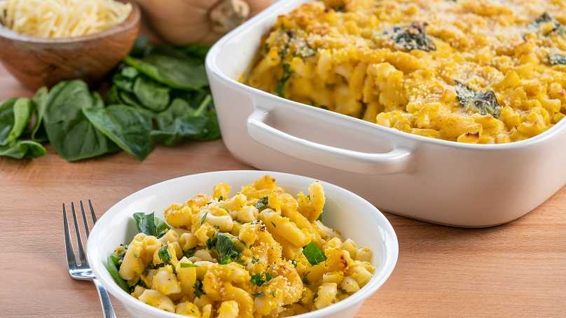 image of Baked Butternut Squash Mac-and-Cheese