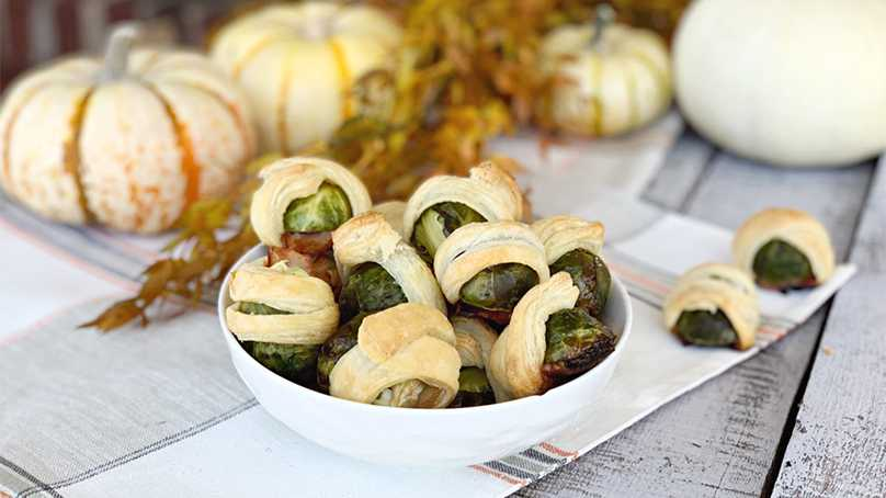 image of Brussels Sprouts in a Blanket