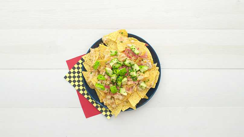 image of Crab Meat Nachos