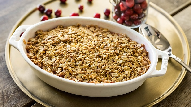 Cranberry Apple Bake with Oatmeal Recipe | Food Lion