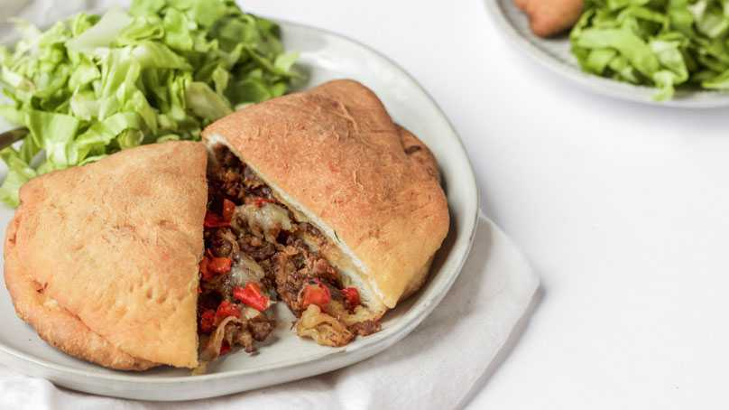 image of Easy Pork Calzone