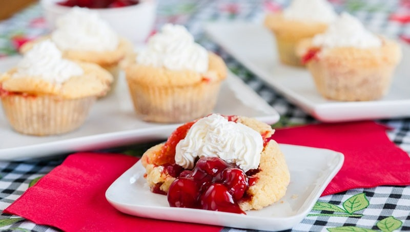 Shareable Mini Cherry Pies