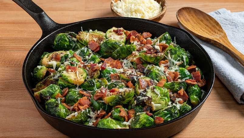 image of Keto Brussels Sprouts with Bacon