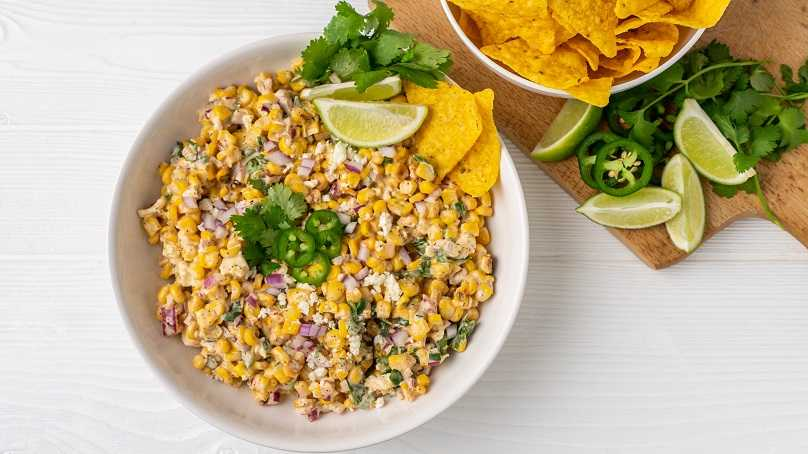 image of Mexican Street Corn Dip