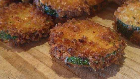 image of Parmesan Fried Zucchini Chips