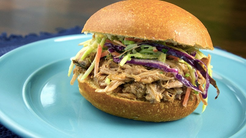 Pulled Pork Made with Pepsi