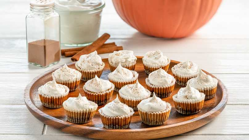 image of Pumpkin Cheesecake Bites