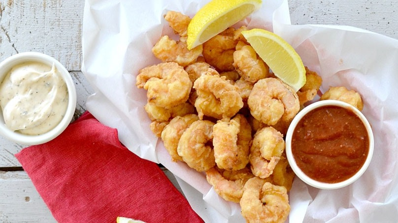 Simply Southern Fried Shrimp