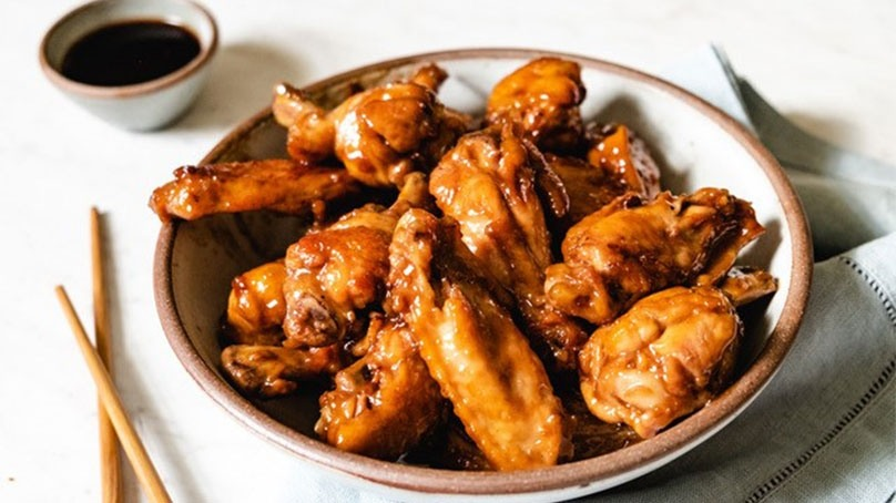 Coca-Cola Glazed Asian Chicken Wings