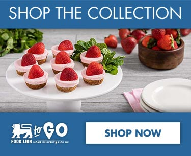 Start Shopping - Strawberry Cheesecake Cookie Cups