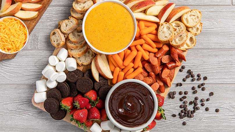 image of Sweet and Savory Fall Fondue