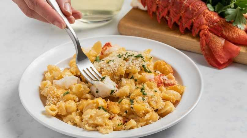 image of Two-Cheese Lobster Mac and Cheese