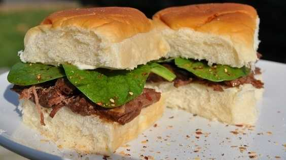 image of Asian Cajun Pot Roast Sliders
