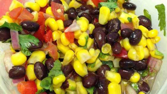image of Black Bean & Corn Salsa