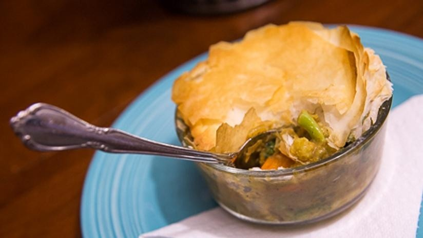 Curry Vegetable Pot Pie