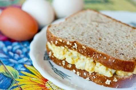 image of Easy Egg Salad Sandwiches