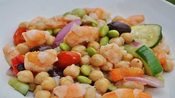 image of Shrimp and Two Bean Salad