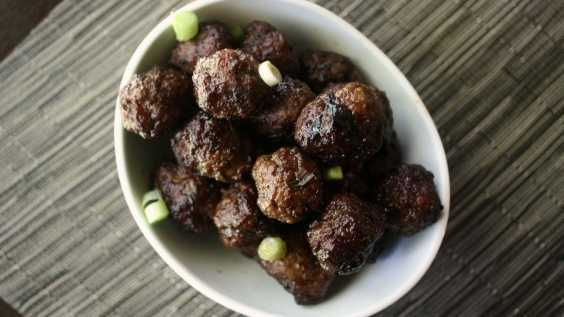 image of Teriyaki Ginger Meatballs