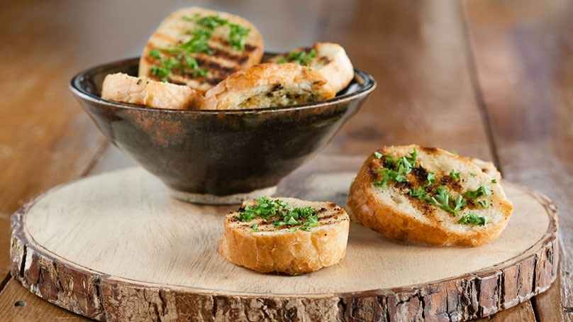 Grilled Garlic Bread