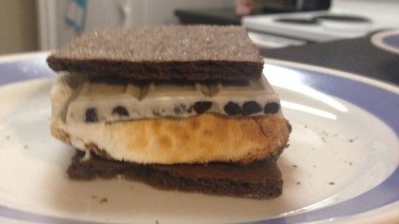 Cookies and Cream S'mores
